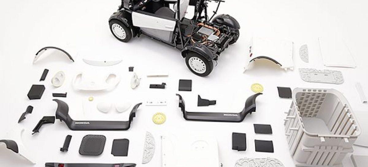 Honda напечатала электромобиль