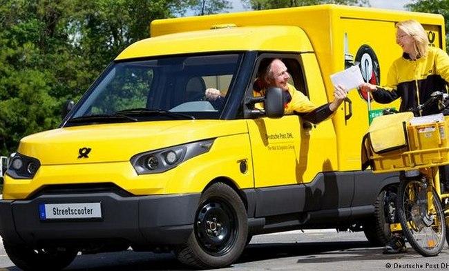 Deutsche Post электромобиль