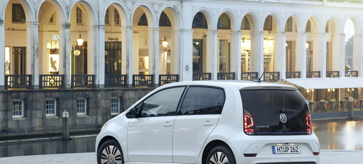 В Европе начались продажи Volkswagen e-load up!