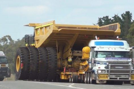 Самые большие грузовики и транспортировщики в мире! Негабаритный груз США