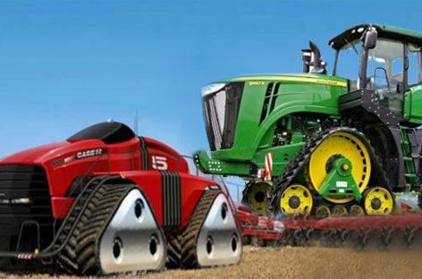 Тракторы Будущего: Удивительные современные мега машины и сельское хозяйство