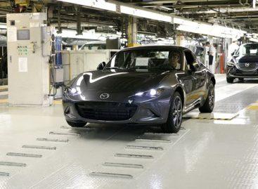 Mazda MX-5 RF отправилась на конвейер