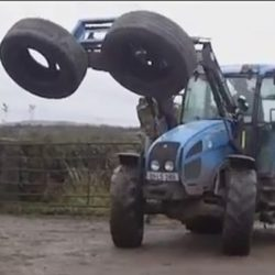 Современная трамбовка силоса – фермерские ухищрения