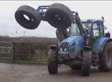 Современная трамбовка силоса — фермерские ухищрения