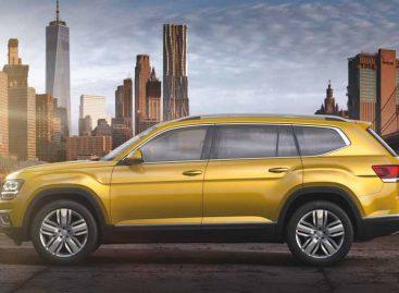 Компания Volkswagen рассекретила новый кроссовер Atlas