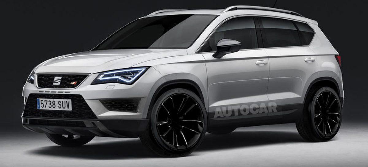300-сильный SEAT Ateca Cupra появится в 2017 году