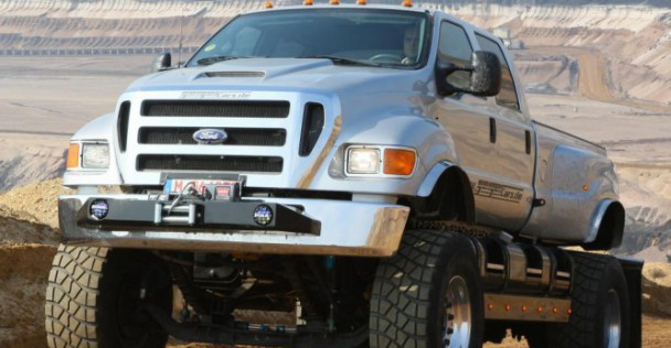 ford f650 пикап
