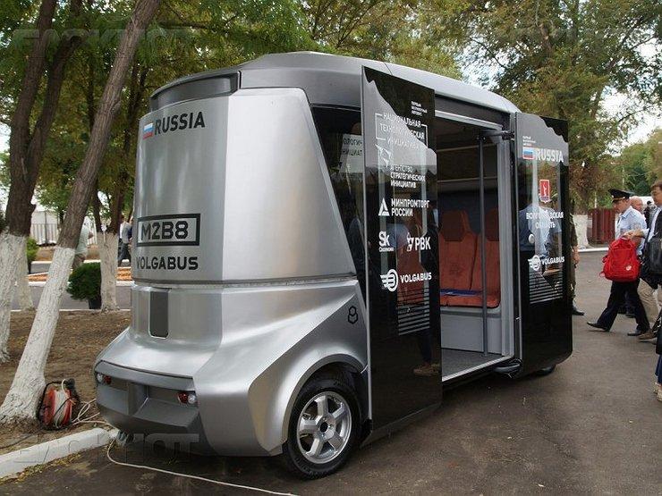 беспилотный автобус матрешка