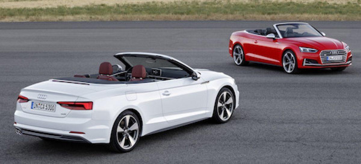 Audi представила новые кабриолеты A5 и S5