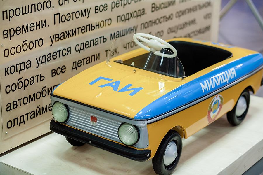 Московский музей педальных машин
