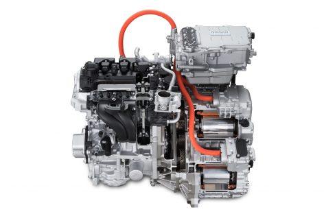 Nissan представляет новую гибридную силовую установку e-POWER