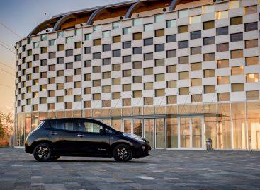 Nissan представляет ограниченную версию LEAF Black Edition