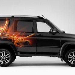 УАЗ и Wargaming представили специальную версию УАЗ Патриот