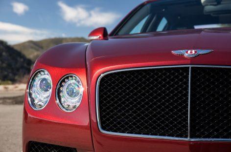 Новый седан Flying Spur V8S представлен в России