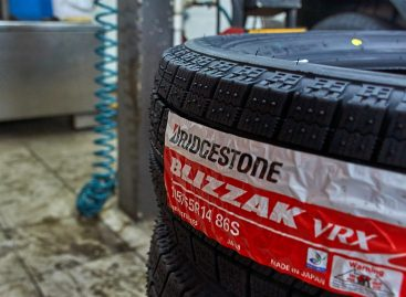 Bridgestone Blizzak VRX — бесшумная и мягкая