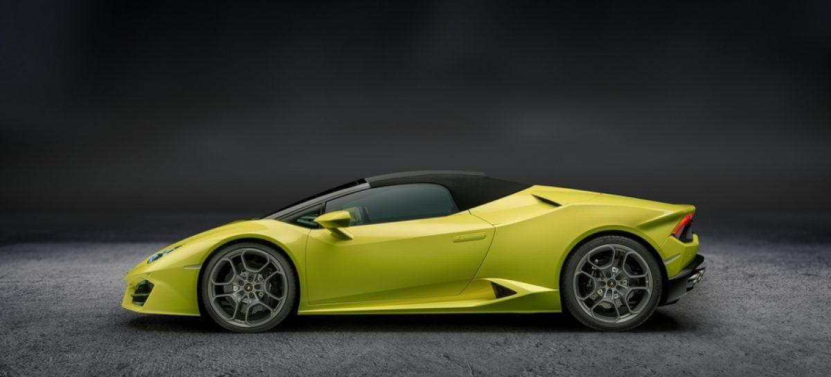 Lamborghini  представила новый Huracán Spyder