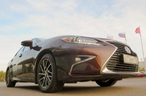 Тест-драйв и разговор о Lexus ES 350