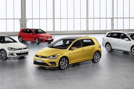 Новые элементы комплектации R-Line для Volkswagen Golf