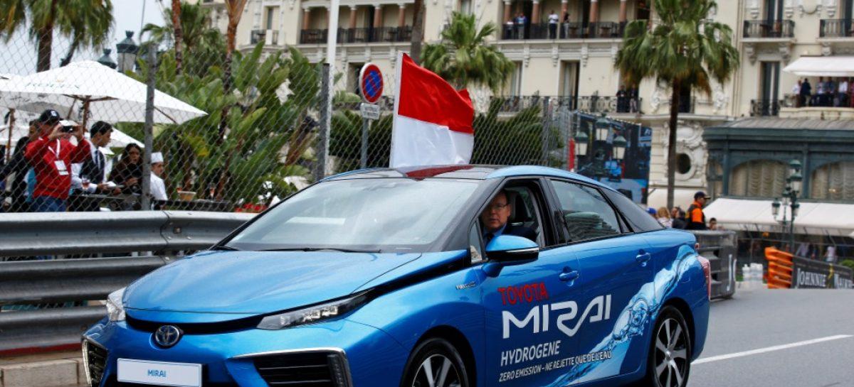 Toyota Mirai выиграла е-Rally в Monte-Carlo