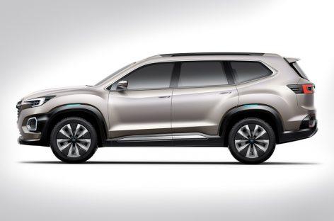 Subaru представила VIZIV-7 SUV Concept