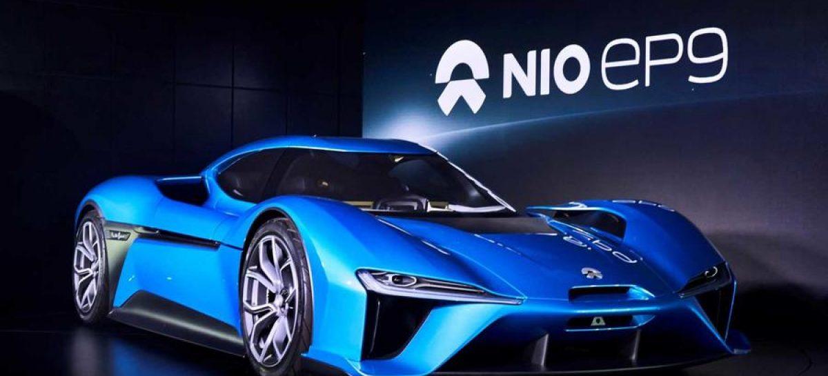 NextEV представил 1360-сильный электромобиль
