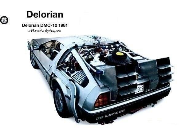 """Delorian DMC-12 """"Назад в будущее"""""""