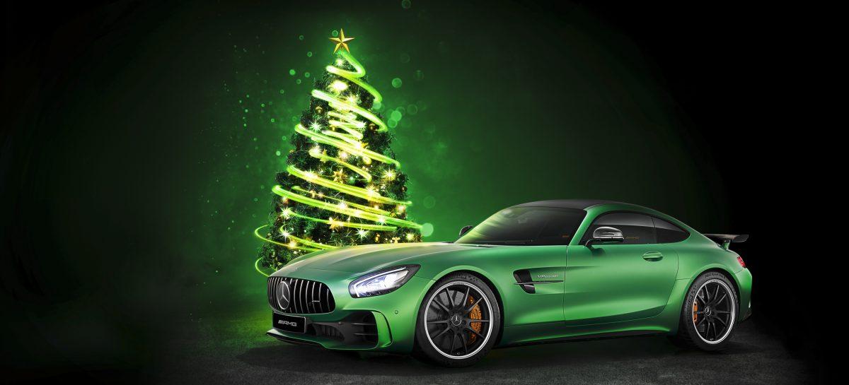 Mercedes-Benz дарит парковку