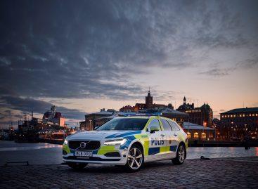 Volvo V90 поступит на службу в полицию Швеции
