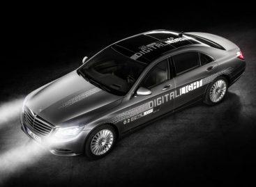 Mercedes-Benz изобрёл цифровые фары с миллионом зеркал