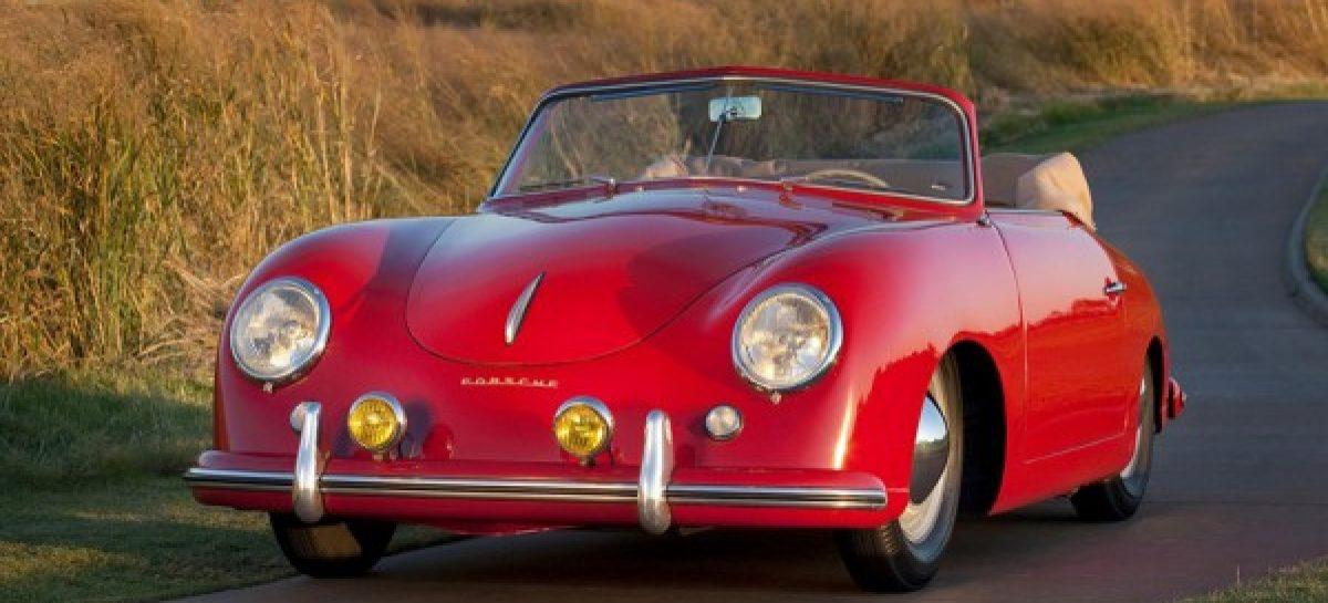 Первый в истории кабриолет Porsche 911 будет выставлен на аукцион