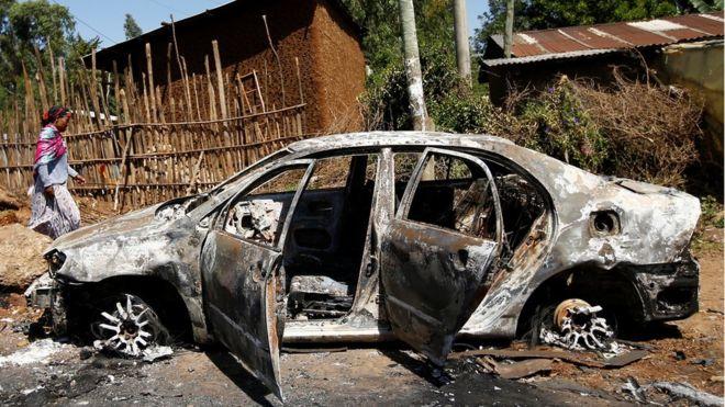 Эфиопия беспорядки