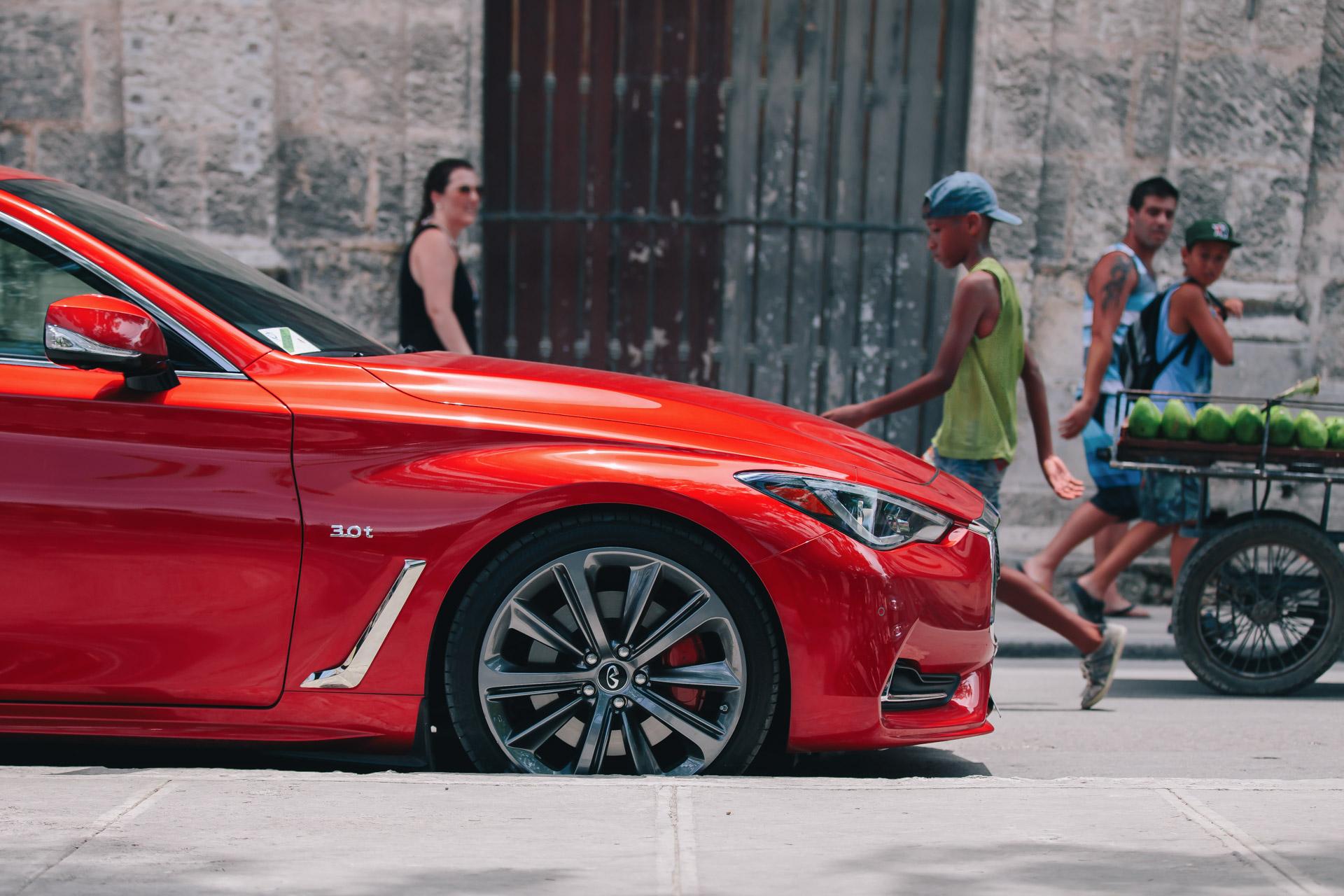 INFINITI Q60 first U.S. vehicle to Cuba