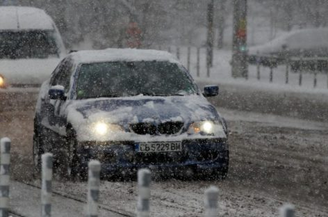 Коллапс на дорогах Болгарии