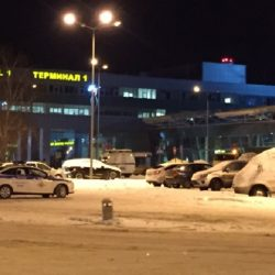 Видео погони в аэропорту Казани