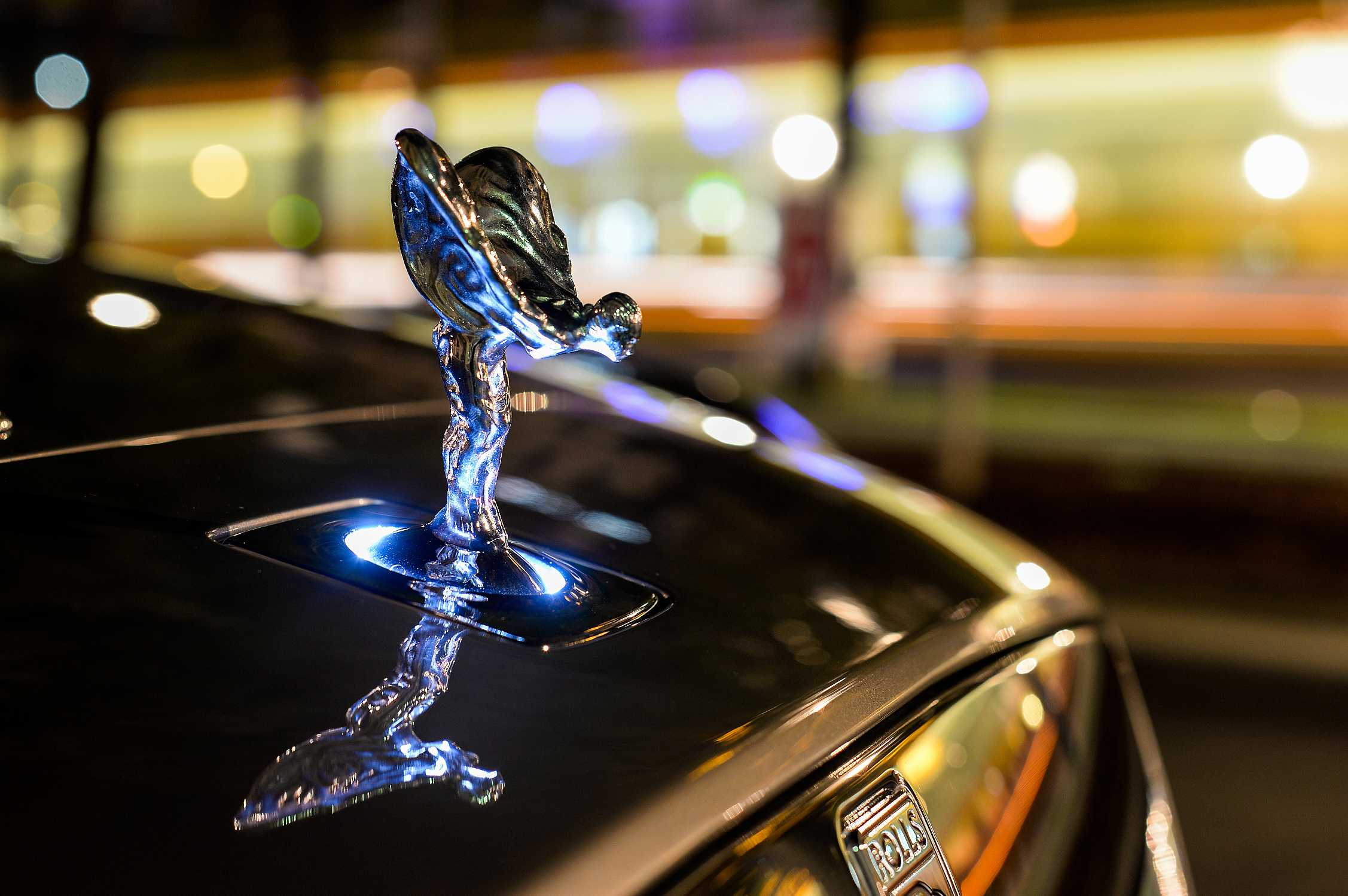 Rolls-Royce Дух Экстаза Spirit of Ecstasy