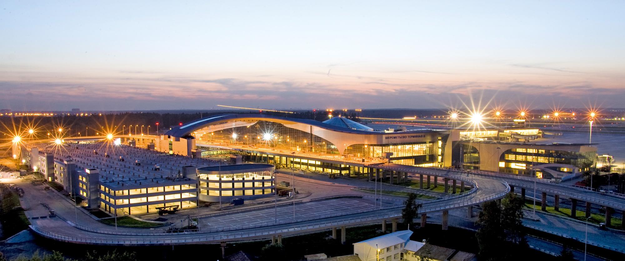 Шереметьево терминал D парковка