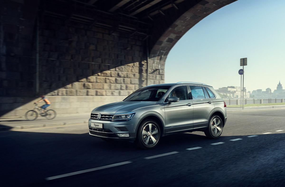 РФпрекратит выпуск VW Tiguan первого поколения