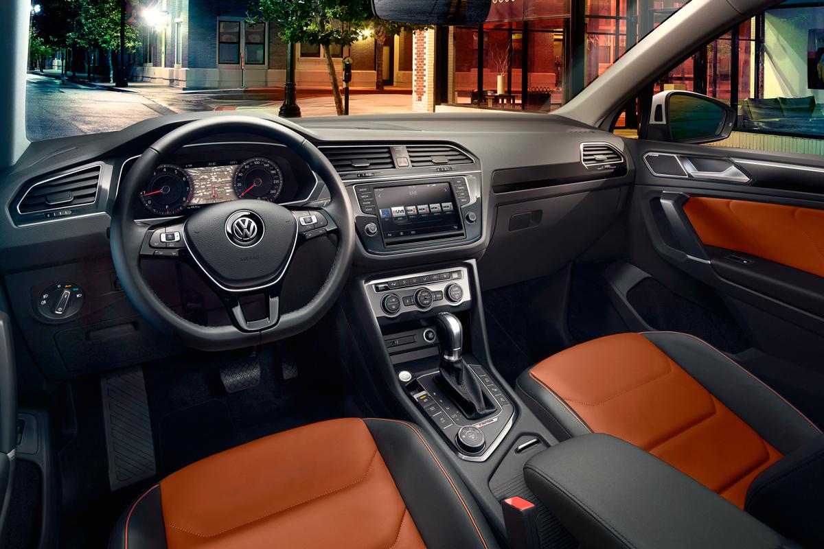 У VW Tiguan наибольший прирост продаж