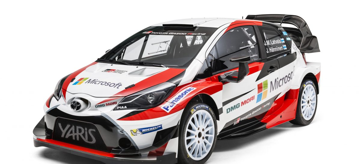 Toyota возвращается в WRC