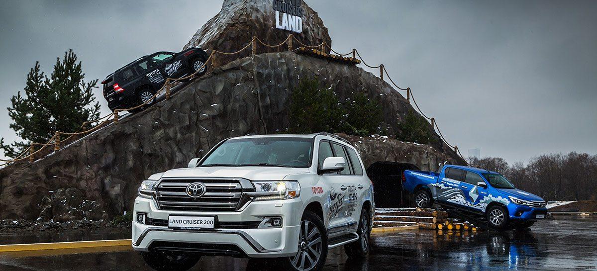 Тест-драйв шоу Land Cruiser Land – событие года