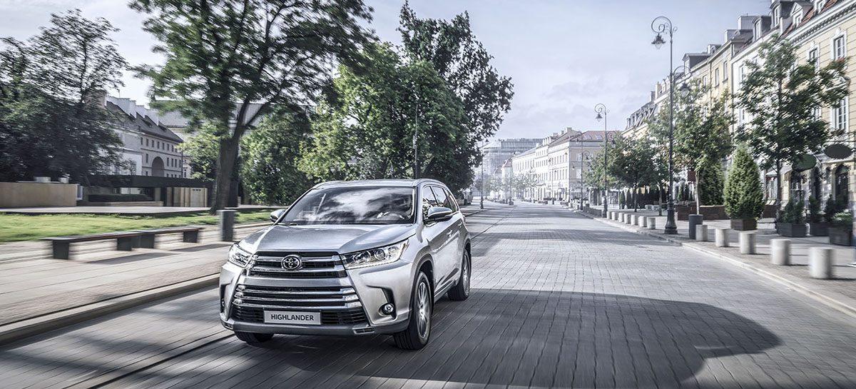 Новый Toyota Highlander в России!