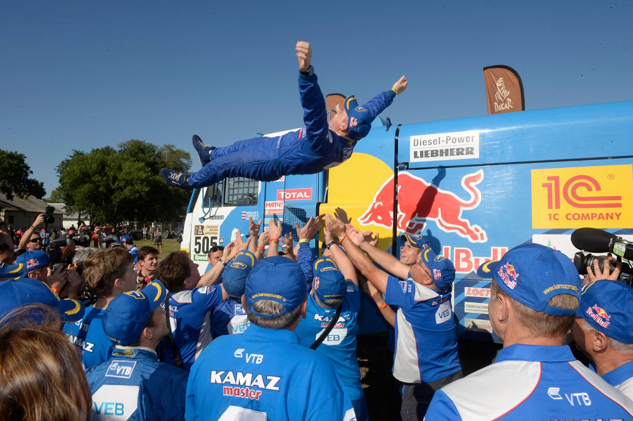 КАМАЗ Дакар 2017 Dakar KAMAZ