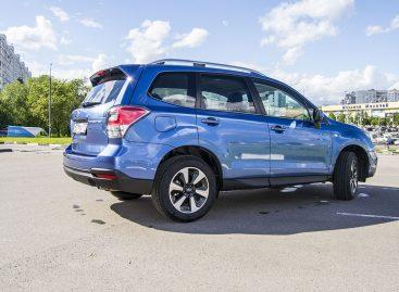 Цены на автомобили Subaru в 2017 году