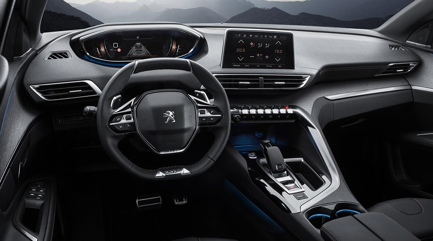 3008 interior