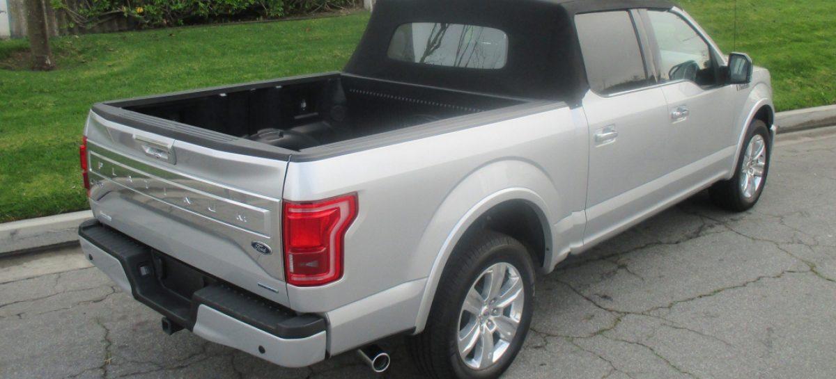 Пикап Ford F-150 теперь и в кузове кабриолет!