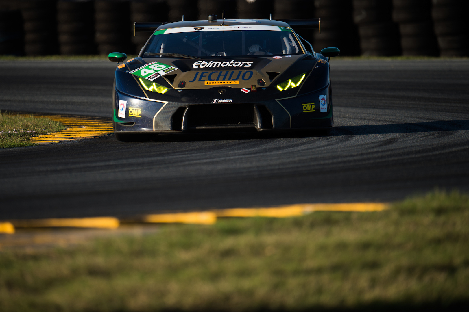 January 5-8, 2017: ROAR Before 24 Test. Paul Miller Racing, Lamborghini Huracan GT3, Bryan Sellers, Madison Snow, Bryce Miller, Andrea Caldarelli