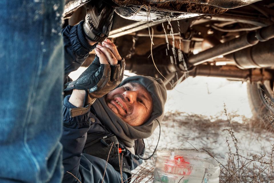 ремонт металлического бака УАЗ Патриот