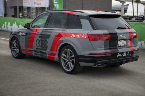 Искусственный интеллект от Audi и NVIDIA