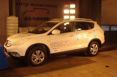 Dongfeng AX7 ожидается в России в июне 2017 года