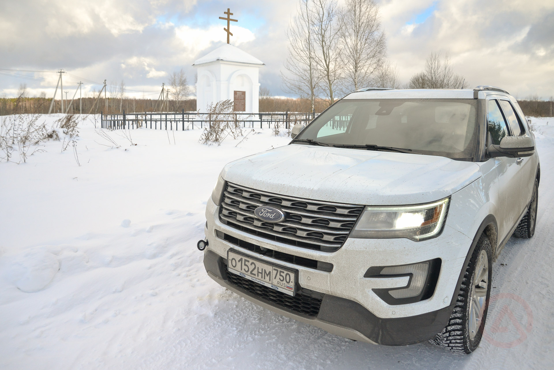 Ford Explorer 2016. Фото Сергей Асланян